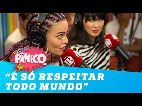 Barbara Fialho fala sobre diversidade: 'É só respeitar todo mundo'