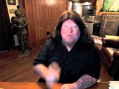 """Christian Metal & Devils Horns!""  Pastor Bob DAILY!"
