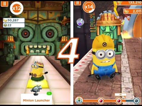 Despicable ME Minion Rush #4 - GRY Na Android Dla Dzieci - Minionki Rozrabiają Katakumby