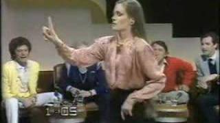 Lorraine Chase .. long  mane swishing back and forth