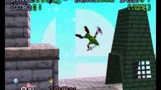 Super Smash Bros 64 (TAS) - Kirby Combos