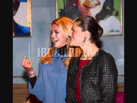 Swedish Princess Victoria and Madeleine