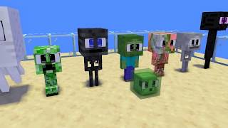 Monster School : All Baby Challenge - Minecraft Animation