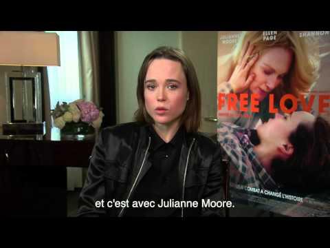 Message d'Ellen Page à l'occasion de la sortie de FREE LOVE