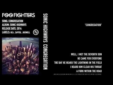 Foo Fighters - Congregation - Lyrics