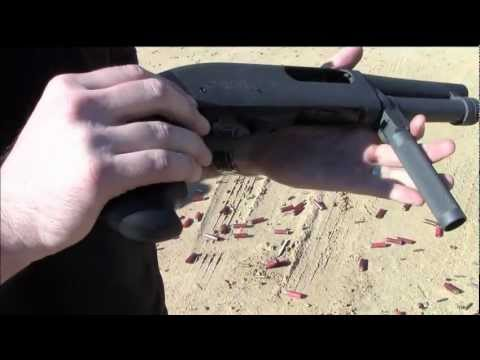 Serbu Super Shorty (Review / Range Time) - Remington 870 12 Gauge Shotgun [AOW]