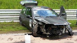 BIG Crash & Fail Compilation 2015 Nürburgring Nordschleife