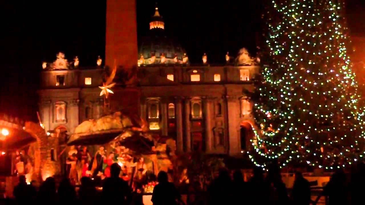 Cake Design Piazza Re Di Roma : 2013 Presepe di notte piazza san pietro ( roma ) - YouTube