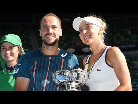 Vesnina/Soares v Vandeweghe/Tecau highlights (Final) | Australian Open 2016