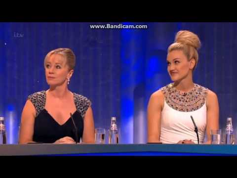 Week 8: Ashley Roberts judges on Dancing On Ice UK 2013