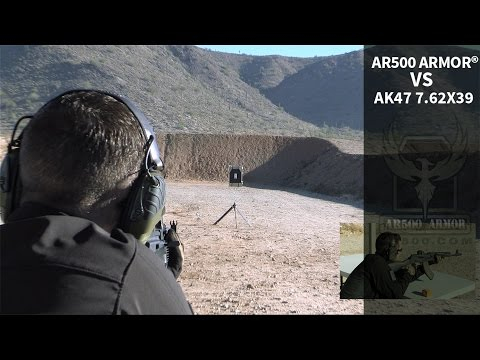 AR500 Armor® Body Armor vs. AK47 7.62x39