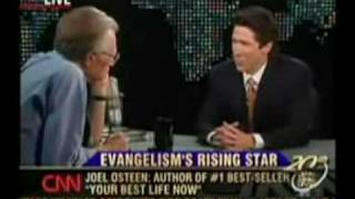 Joel Osteen's Evasive Gospel Interview