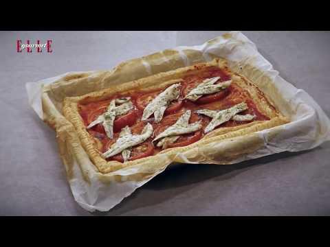 Mirian Pérez y su receta de tarte fine de boquerones en vinagre | ELLE
