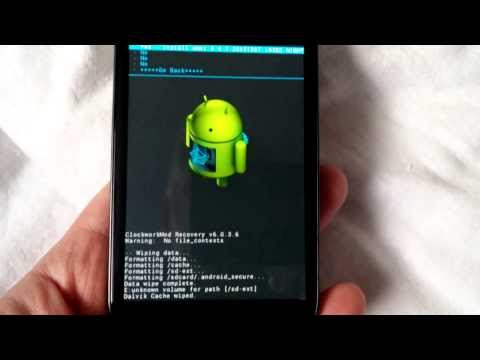 Installing OmniROM Android 4 4 1 on my Samsung Galaxy S3 GT-i9305