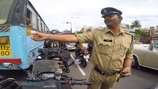 CAUGHT BY COPS | GOA RIDE | NINJA1000 | CBR 650 | VIZAG