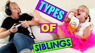 TYPES OF SIBLINGS!!!