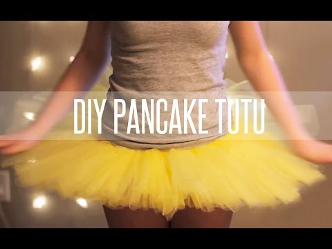 HOW TO MAKE A TUTU STIFF {PANCAKE TUTU}