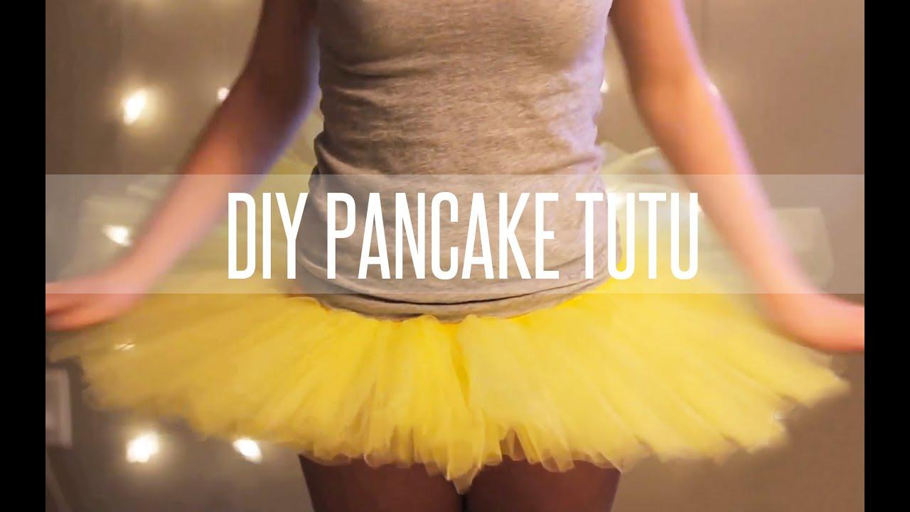 HOW TO MAKE A TUTU STIFF (PANCAKE TUTU) - YouTube