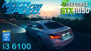 Need for Speed 2015 : GTX 1050 - i3 6100 (Ultra Settings)