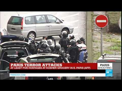 #BREAKING: special police forces arrive on the scene - PARIS HOSTAGE CRISIS