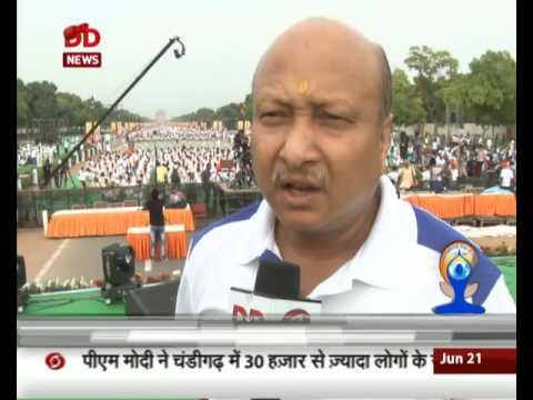 International Yoga Day: Ajit Sharan, Secretary Ministry of AYUSH