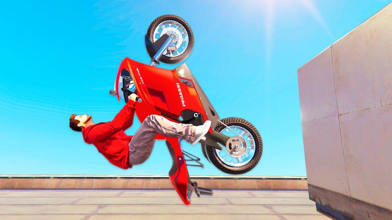 Как сделать мотоцикл в гта 5 596