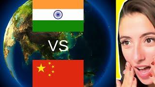 Is it really India Vs China by Karolina Goswami - Reaction Video