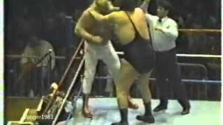 Big John Studd vs. Andre The Giant