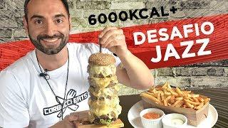 4 pound burger + 1 pound fries under 8 minutes!!! (food challenge)