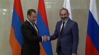 Медведев – Пашиняну: Армения   наш близкий союзник