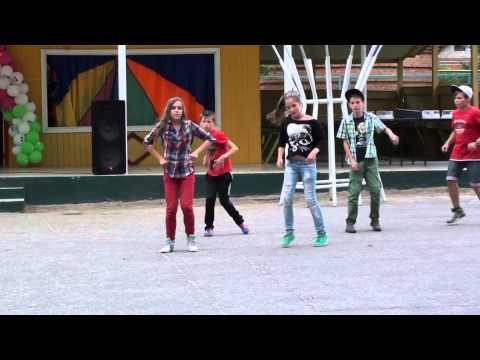 """Батл """"Балет vs уличные танцы"""" - детский лагерь """"Орленок"""" (2014)"""