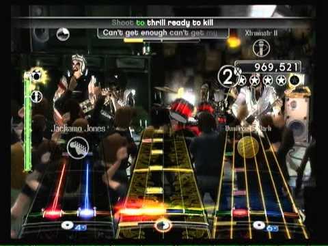 ACDCShoot To ThrillFull BandExpert Rock Band 2GuitarBassVoxDrums DLC