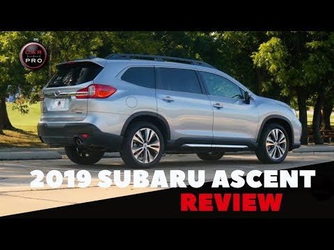 Subaru Proves It Can Do Three-Row SUVs With New 2019 Ascent