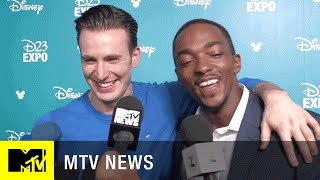 Chris Evans And Anthony Mackie Talk 'Captain America: Civil War'   MTV