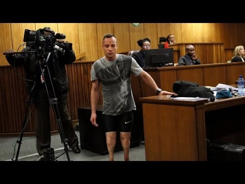 Why Former Olympian Oscar Pistorius Removed His Prosthetic Legs In Court