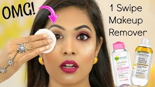 OMG! 1 Swipe Makeup Remover … Does it Really Works? | Shruti Arjun Anand