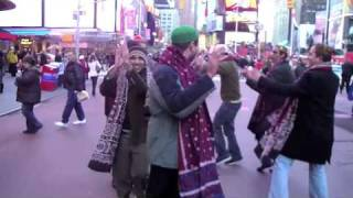 Ho Jamalo, Sindhi Topi Day USA- Times Square New York, Mahboob Dahani