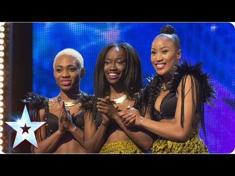 Booty-tastic! CEO Dancers shake the BGT stage - Week 2 Auditions | Britain's Got Talent 2013