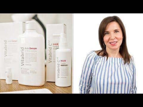Новое средство от выпадения волос с Витамином С - VITABRID C12