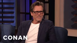 Kevin Bacon Decided To Spend His Birthday With Conan - CONAN on TBS