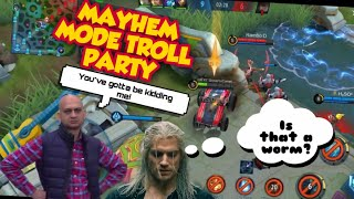 #25 Mayhem Mode Troll Party | INDIAN ML SQUAD'S FUNNY CONVERSATIONS | Mobile Legends |