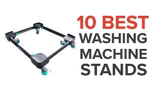 10 Best Washing Machine Stands in India with Price