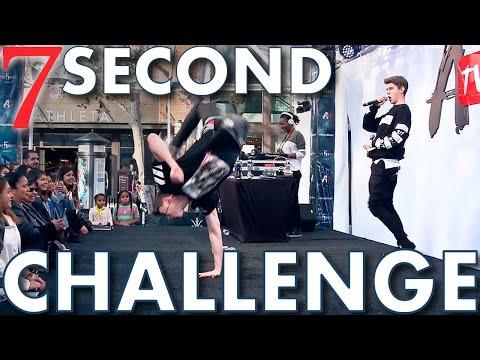 7 SECOND CHALLENGE Sibling Tag w/ Devan | Collins Key