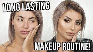 FULL BEAT, LONG WEARING MAKEUP TUTORIAL! TIPS ON HOW TO KEEP MAKEUP ON ALL DAY AND NIGHT! ad
