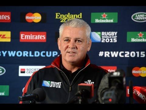 Warren Gatland on why he picked Matthew Morgan to start against Fiji | WRU TV