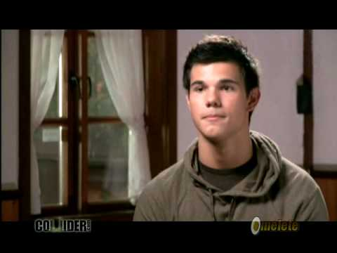Taylor Lautner On Set Interview The Twilight Saga: Eclipse Video