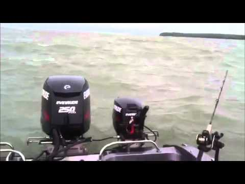 Lake Erie Pre-fishing For Walleye Day Three - Reef Runners and Rough Waves