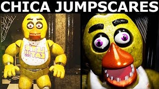 Creepy Nights at Freddy's DEMO 2 - Chica Animatronic Jumpscares (FNAF Horror Game 2018)