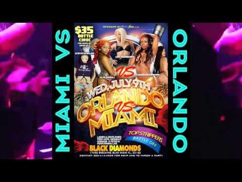 Miami Vs Orlando Strippers At Black Diamonds Miami Wednesday July 9 2014