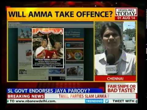 Lankan government makes tasteless snipe at Jaya-Modi 'Love'